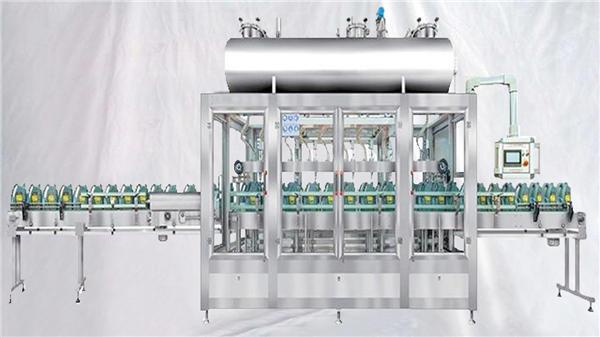 Máquina de omplir rotativa per a l'oli de lubricants