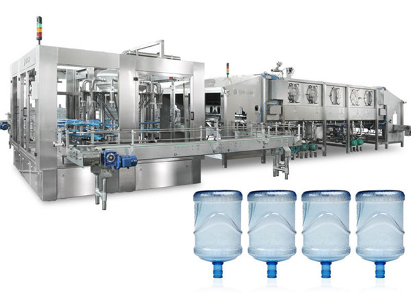 5 màquines d'ompliment d'ampolles de 5 galons