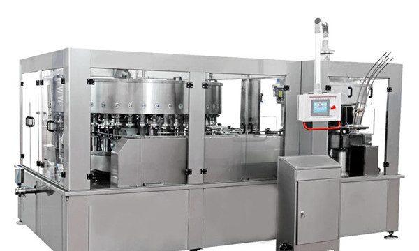 La màquina d'ompliment d'alumini per a begudes energètiques