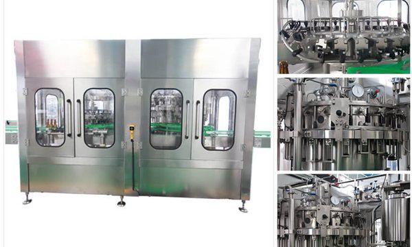 Màquina automàtica d'ampolla d'ampolles de vi de vi de vodka de cervesa