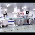 Màquina automàtica d'ompliment i tapatge de crema