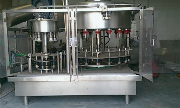 Màquina d'ompliment d'ampolles de perfum de pressió negativa de 10 caps