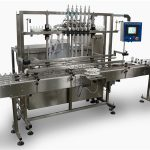 Màquina automàtica d'ompliment d'ampolles de sabó líquid