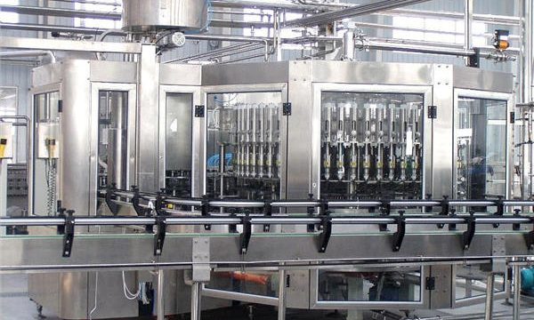 Equip automàtic de màquines d'ompliment d'ampolles de vidre de xampú de 250ml