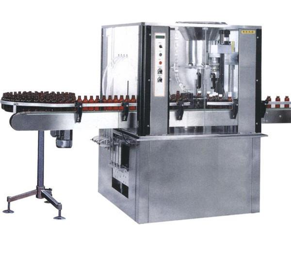 Màquina de farciment de càpsula d'alta ampolla de gran velocitat