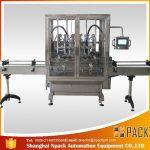Màquina de farciment de líquids per ampolla automàtica de gravetat per a desbordament
