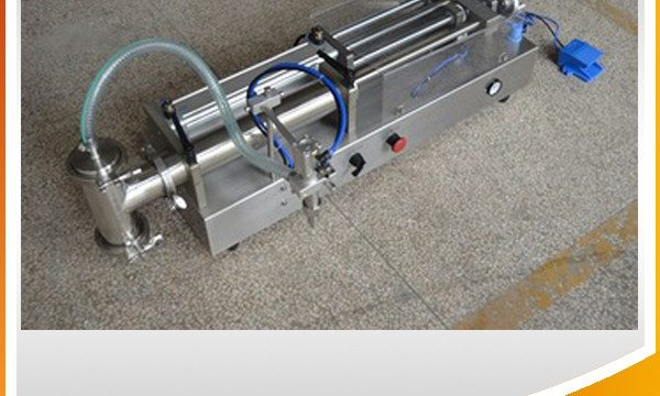 Màquina omplint de pistó semiautomàtic ideal per omplir oli