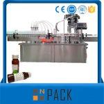 Màquina automàtica d'ompliment de líquids amb ampolla rotativa