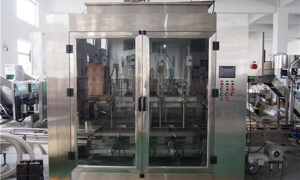 Màquina automàtica per omplir oli d'aliments i màquina per envasar oli d'oliva