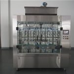Màquina automàtica per omplir líquid a pressió atmosfèrica de 12 caps