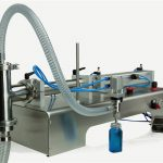 Control pneumàtic Doble capçal màquina per omplir oli de lubricació