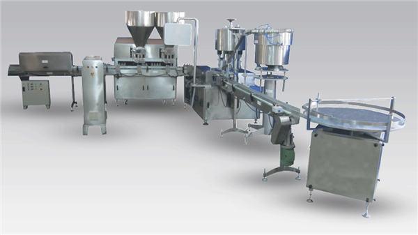 Màquina automàtica d'ampolla d'ampolles de cervesa líquida automàtica per a l'etiquetatge i l'etiquetatge de la línia de producció