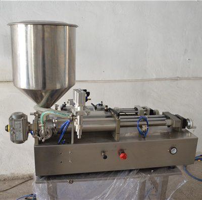 Cosmètica manual d'ompliment manual d'oli semi-automàtica