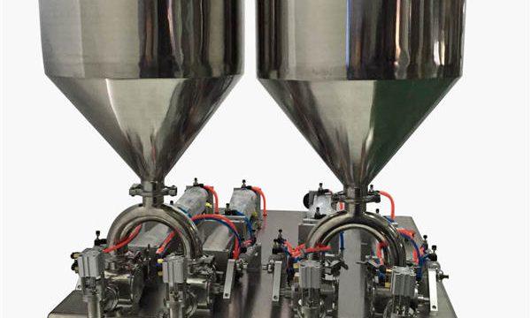 Màquina de farciment de crema semi-automàtica duradora