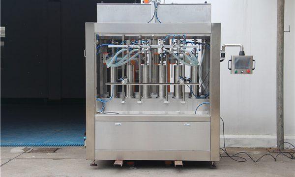 Màquina de llençar de salsa de tomàquet semiautomàtica pneumàtica pura