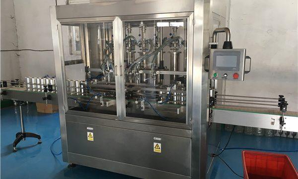 Màquina de farciment de salsa d'ampolles de vidre