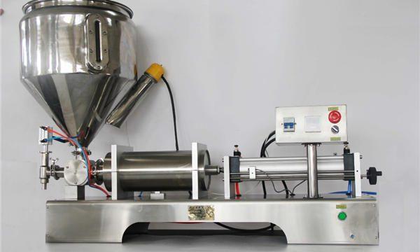 Màquina de llençar melmelada de fruites semiautomàtica pura i pneumàtica