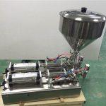 Màquina d'ompliment de melmelada de caps de doble capçalera àmpliament usada