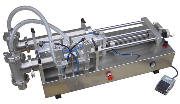 Màquina de farciment de líquids de pistó manual de baix preu
