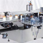 Màquina d'etiqueta superficial superior d'ampolla de perfum de vidre