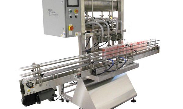 Màquina automàtica d'ompliment de pistons