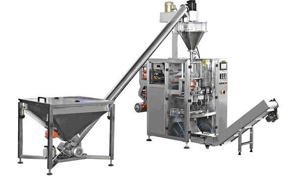 Màquina automàtica per omplir pólvora d'alimentació en espiral