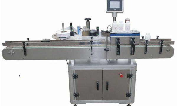 Màquina automàtica de dues cares automàtiques per emmagatzemar ampolla de vidre de plàstic per a mascotes