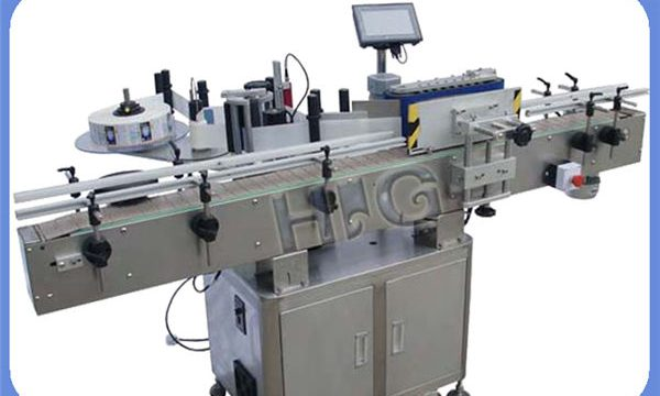 Fabricant automàtic d'etiquetatge d'ampolles d'ampolla rodona NPACK amb impressora