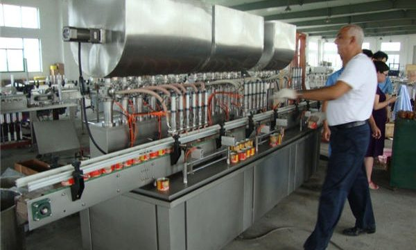 200-1000ml màquina automàtica de farciment de salsa de soja