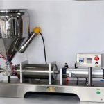 Màquina de farcit de salsa manual per a llaunes