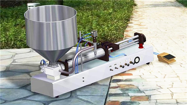 Màquina de farciment de líquids de detergent semiautomàtic
