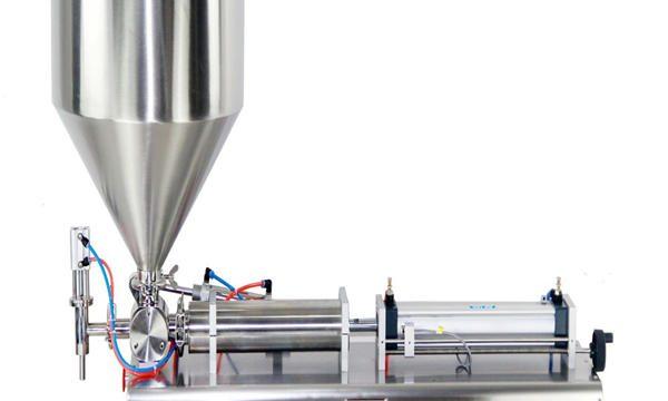 Màquina de farciment de crema de pots de pistó semiautomàtic