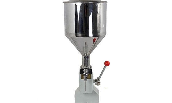 Màquina de farciment de crema operada a mà petita