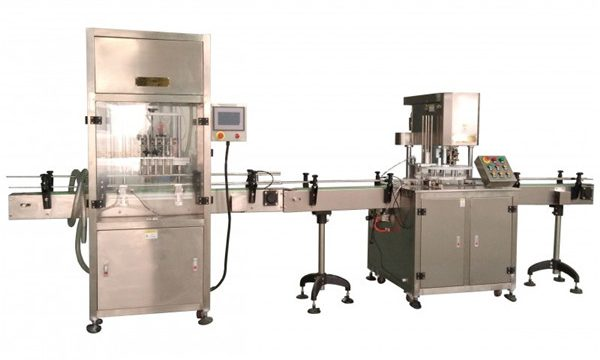 Màquina automàtica d'ompliment de líquids
