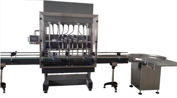 Màquina d'ompliment de líquids corrosius en ampolla