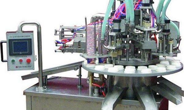 Màquina automàtica d'ompliment de crema / pomada cosmètica