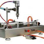 Màquina de farcit de crema cremàtica pneumàtica doble capçalera 100-1000ml