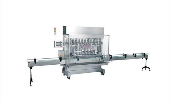 4 màquines per omplir cosmètics detergents de sabó líquid automàtics de 4 caps