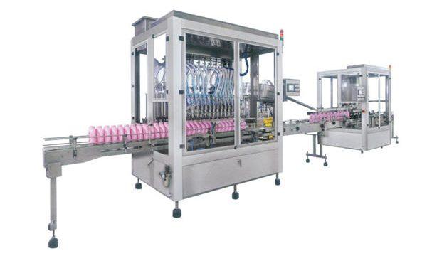 Màquina automàtica per omplir xampús de detergent de sabó líquid complet
