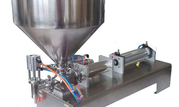 Preu de fàbrica Manual de màquines de farciment de pasta pneumàtica