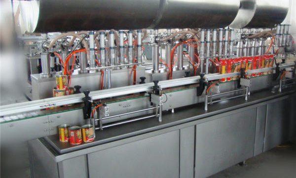 Màquina de farciment de pasta de xili de doble capçal complet