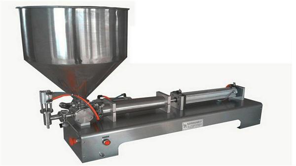 Màquina de farciment de pasta vertical semiautomàtica de capçal únic