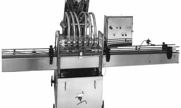 Màquina d'ompliment d'oli vegetal de pistó controlat per PLC