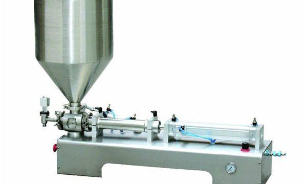 Màquina de farciment de pistó de balsa líquida semiautomàtica / Botella de líquid