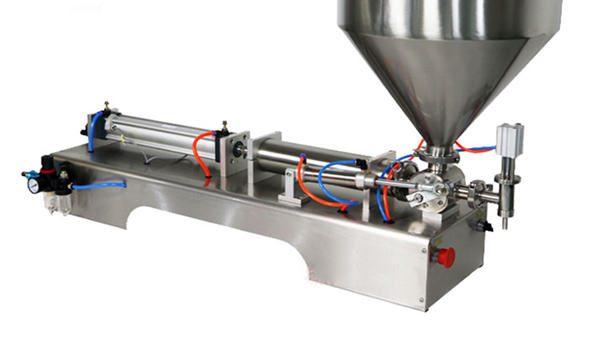 Màquina de farciment de salsa gruixuda de pistó semiautomàtic