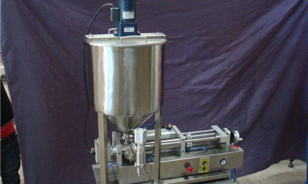 2 màquines de farciment de líquids semiautomàtics de 2 caps