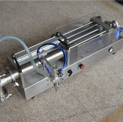 fabricant de màquines d'ompliment de xampús semiautomàtic
