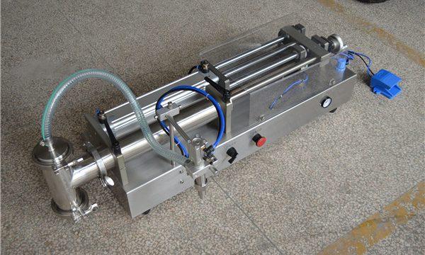 Fabricador de màquines d'ompliment de xampú semi automàtic